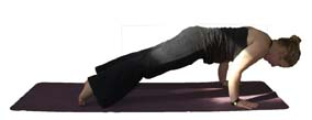 Transition to Plank